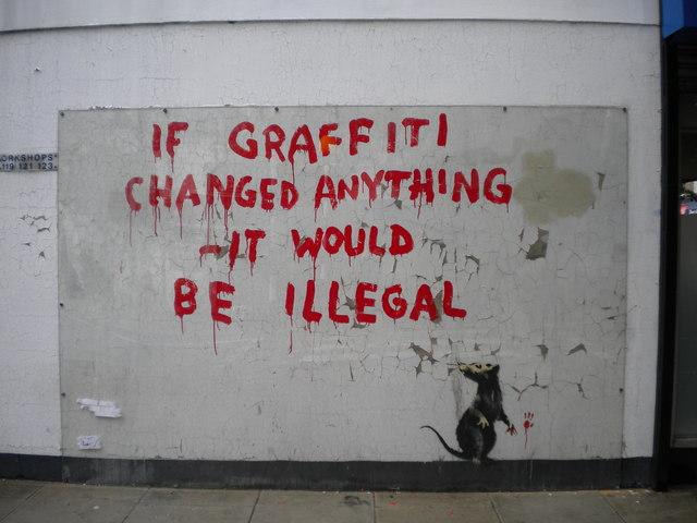 Graffiti, Clipstone Street W1