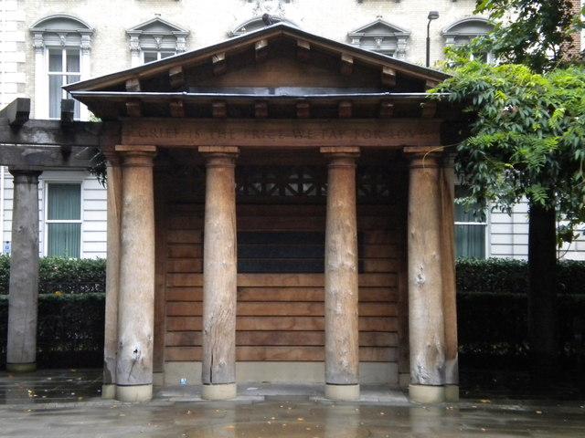 Shelter, Grosvenor Square Gardens W1