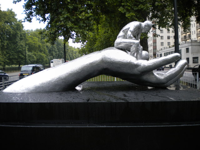 Artwork 'Touched By The Hand Of God', Park Lane W1