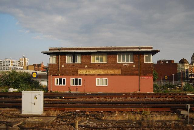 Clapham Junction B signal box
