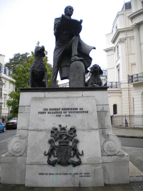 Robert Grosvenor Statue, Grosvenor Crescent W1