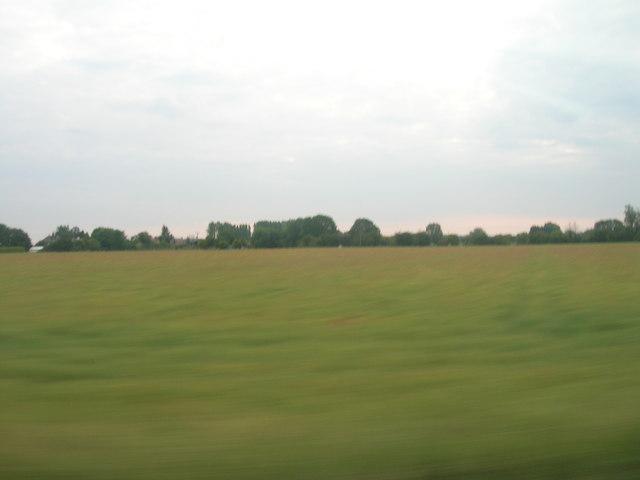 Farmland south of Arram