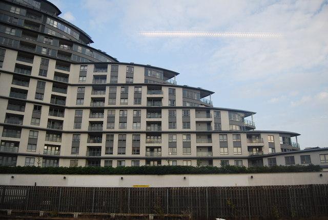 New development (Centrium) by Woking Station