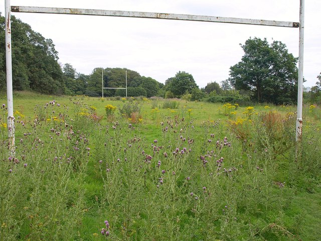 Disused rugby pitch, Roundhay