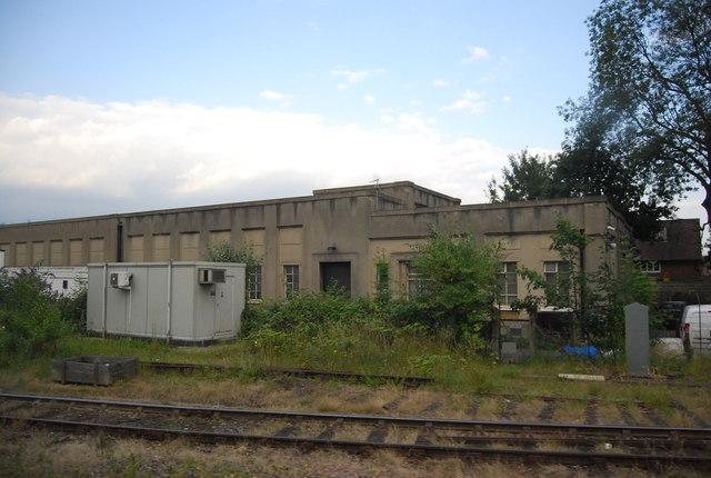 Railway building near Woking Station