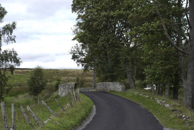 Bridge on minor road