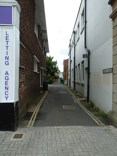 Looking from Portsmouth Road into Cox's Lane