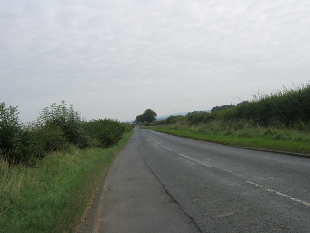 Lodge Lane east towards Great Stainton