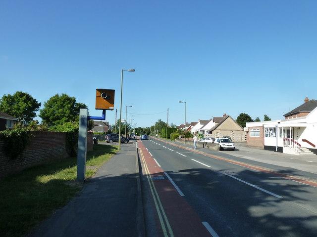 Speed camera in Highlands Road