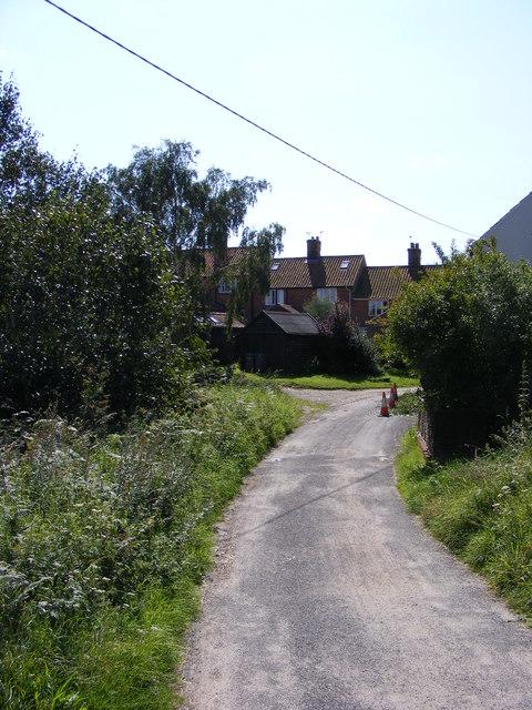 Palmers Lane, Walberswick