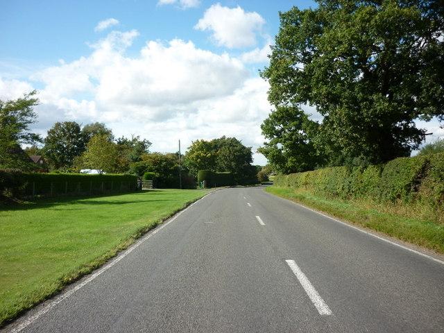 The A1084, Brigg Road, Caistor