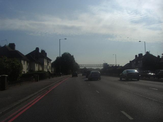 The North Circular Road in Neasden