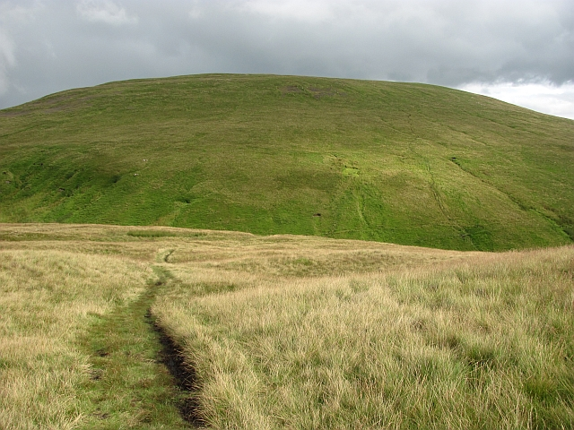 Towards King's Seat Hill