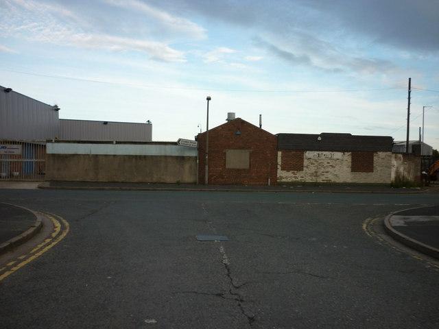 Crowle Street at Wyke Street, Kingston upon Hull