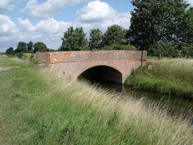 Bridge over Newham Drain, near Grange farm