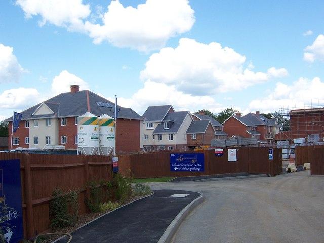 Housing on former RAF Eastcote site