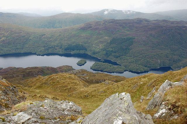 Loch Katrine from Ben Venue