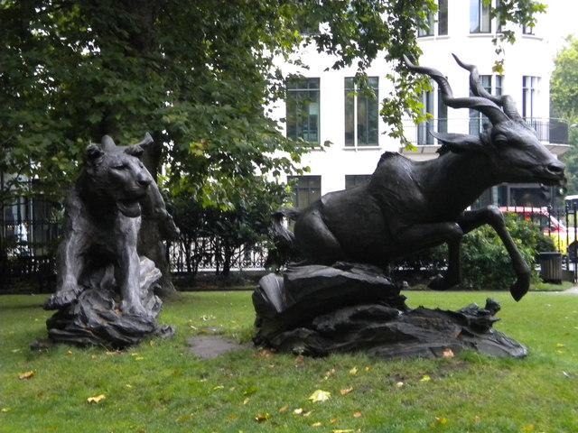 Sculpture, Grosvenor Gardens SW1