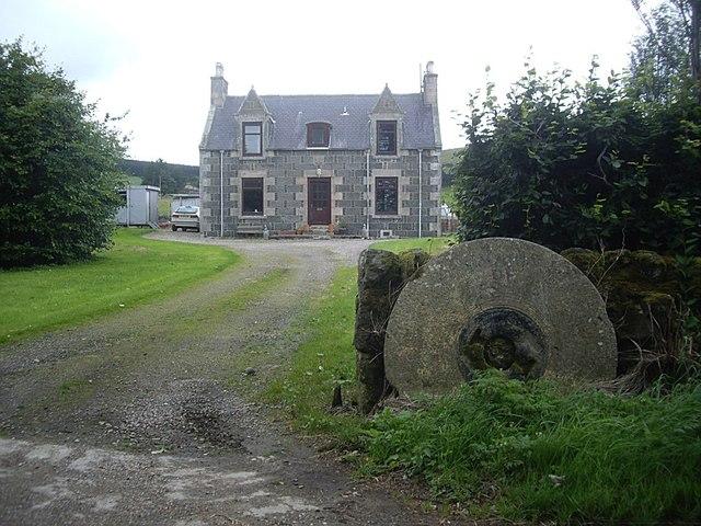 Farmhouse, Mains of Lesmoir