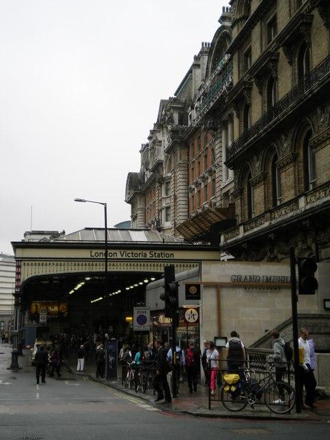 London Victoria Railway Station, Terminus Place SW1