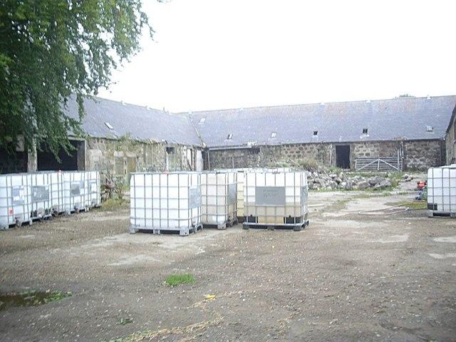 Farmyard, Mains of Lesmoir