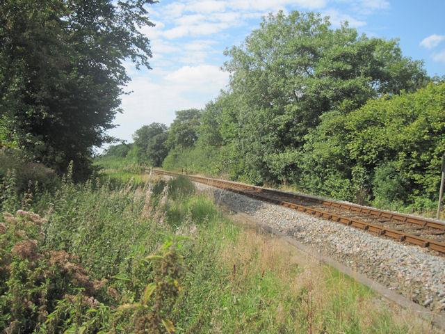 Cambrian Railway near Morben Hall
