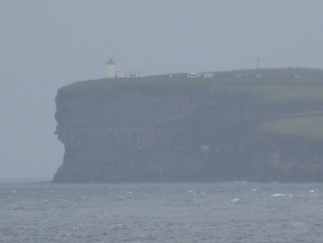 Duncansby Head: view from the Orkney ferry