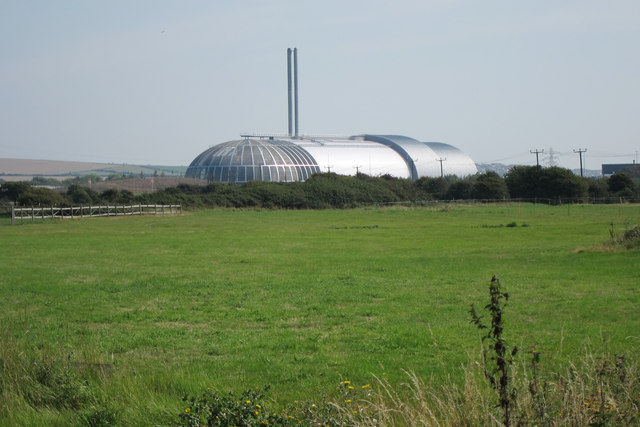 View to Waste facility