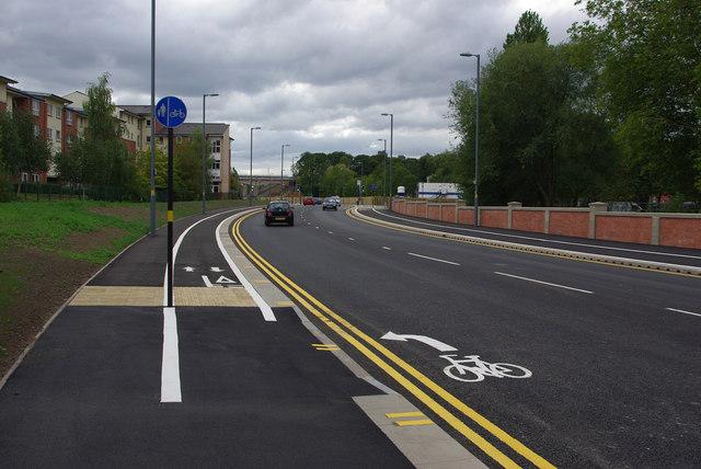Shared use path alongside Aston Webb Boulevard (Selly Oak New Road- Phase 2)