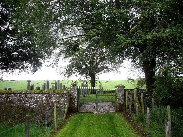 Access path to Essie walled cemetery
