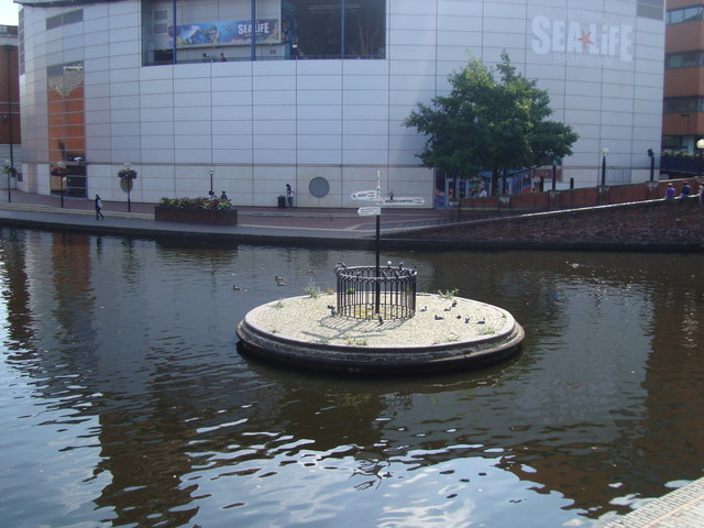 Canal Roundabout, Birmingham