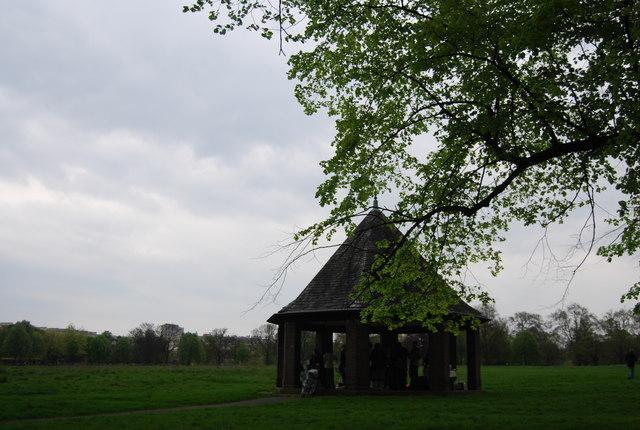 Shelter in Hyde Park
