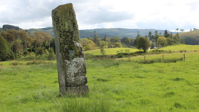 Standing stone near Ford