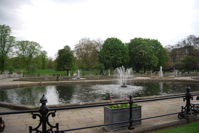 The Fountains, Hyde Park