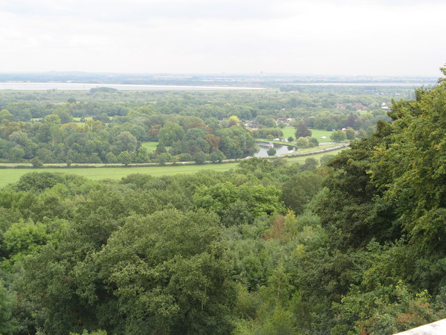 View taken from the Runnymede Memorial