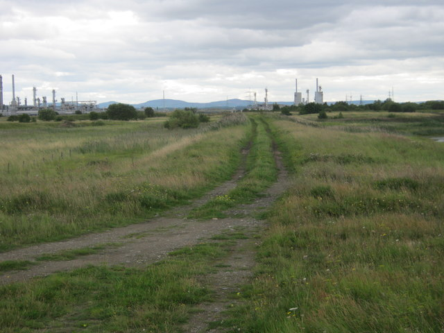 Track for brinefield on Teesmouth