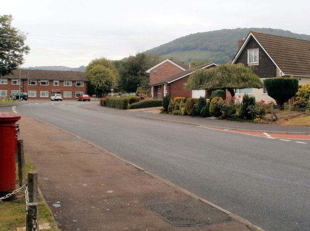 Southern end of St Teilo's Road, Mardy