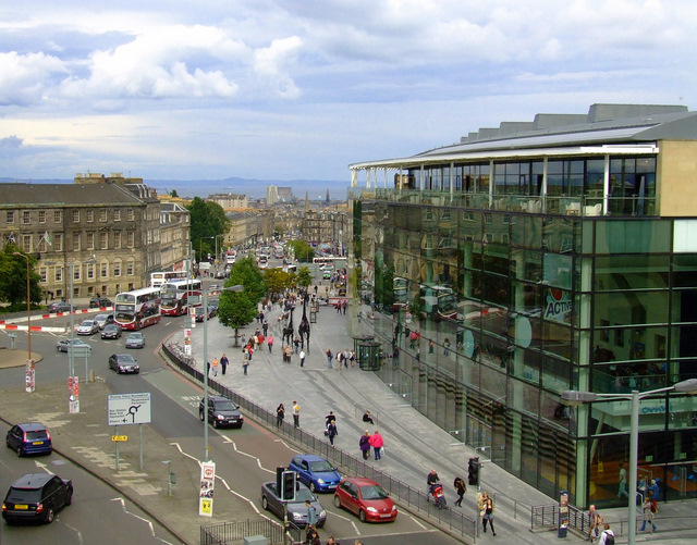 Leith Street and Leith Walk