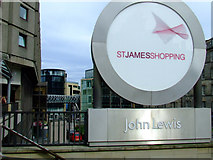 NT2574 : St James shopping centre by Thomas Nugent