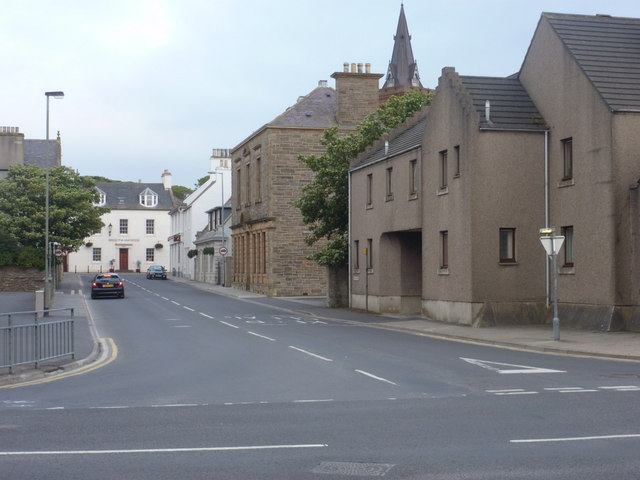 Kirkwall: the A962 – Britain's shortest 'A' road