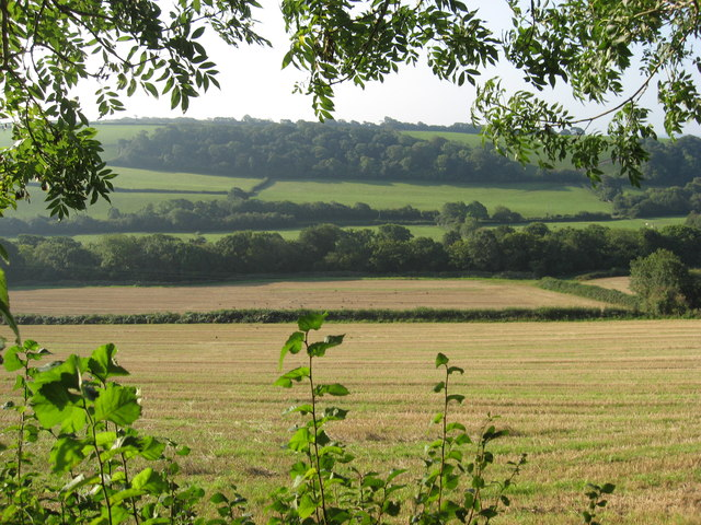 Southerly View over the Yeo Valley