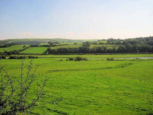 Dyfi valley from Abernant