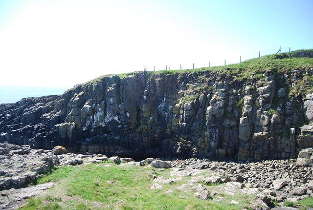 Cliff, Queen Margaret's Cove