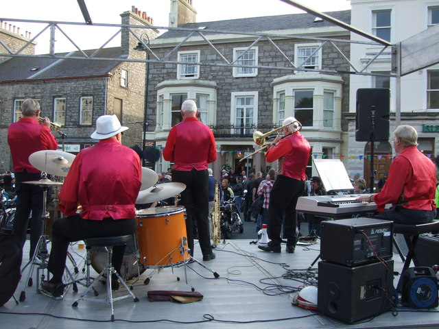 Jazz - ''There's a tavern in the town'' - Castletown