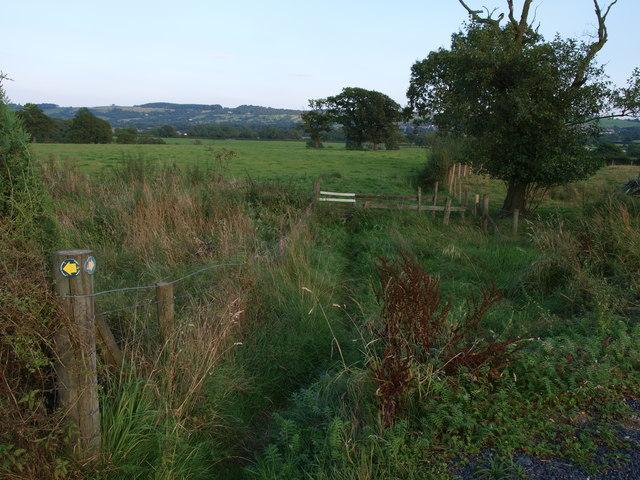 Footpath to Chapel Lane