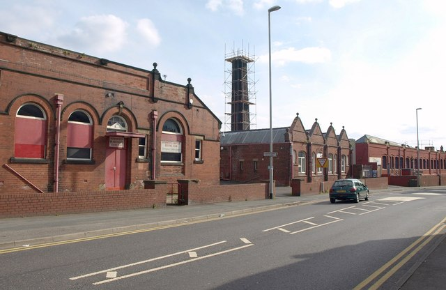 Hudson Mills factory, Stoney Rock Lane