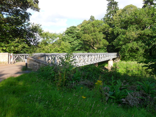 Bridge over the River Allen at Ridley