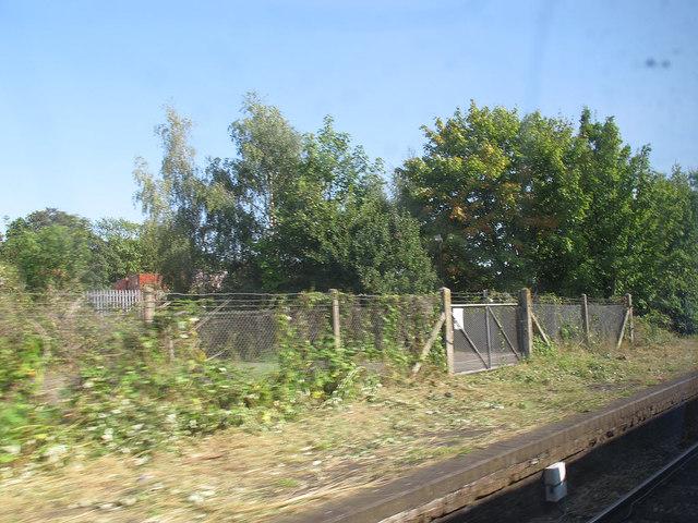 Site of Selsdon station