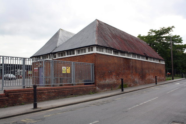 Outbuilding at Alfred Sutton Primary School, Crescent Road