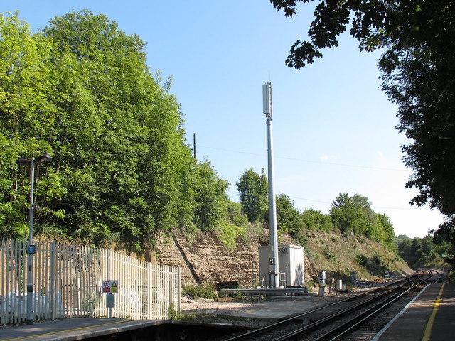 Transmitter at Woldingham Station